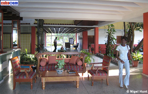 Hotel Guantanamo Looby and Reception